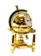 Miniature Revolving Globe Clock - Decorative Clock