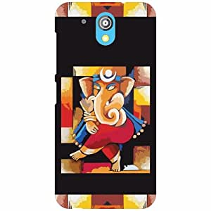 HTC Desire 526G Plus Back Cover - Lord Ganesh Designer Cases