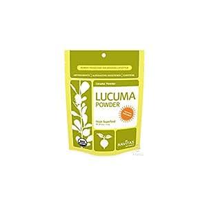 Navitas Naturals Organic Lucuma Powder, 8-Ounce Pouches (Pack of 2)