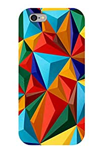 Accedere Printed Back Cover Case for Apple iPhone 6