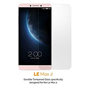 Premium Quality Tempered Glass Screen Protector for Le Eco Max 2 by GADEX