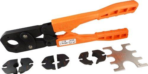 sharkbite 23100 pex crimp ring tool kit 3 8 inch 1 2 inch 3 4 inch and 1 i. Black Bedroom Furniture Sets. Home Design Ideas