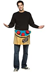 Bobbing for Apples Costume Accessory - One Size - Chest Size 42-48