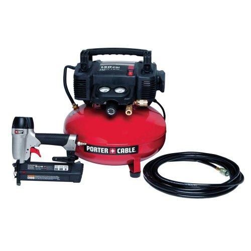 (Pcfp12236) 6-Gal. Portable Electric Air Compressor And 18-Gauge Brad Nailer Combo Kit