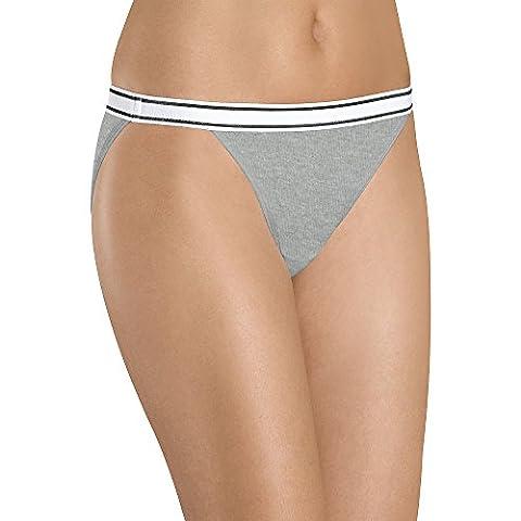 Hanes Women's Cotton String Bikinis 6 Pack, Size 7, Assorted