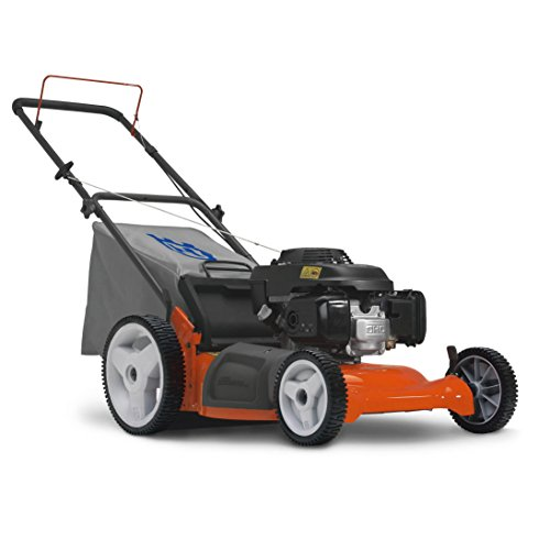 Husqvarna 7021P 21-Inch 160cc Honda GCV160 Gas Powered 3-N-1 Push Lawn Mower With High Rear Wheels (CARB Compliant) image