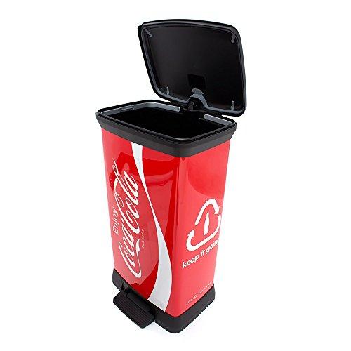 curver-02162-c14-07-abfalleimer-coca-cola-deco-b-metallics-mit-pedal-50-l