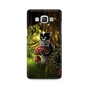 Mobicture Cat Premium Printed Case For Samsung A7