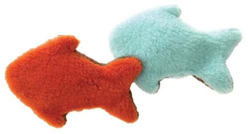 """Eco Friendly """"Fish for Cat"""" Organic Catnip Toy: Willow"""