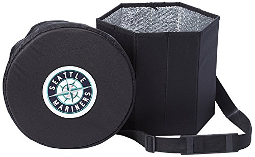MLB Seattle Mariners Cooler Ottoman Cold Storage Seat, One Size