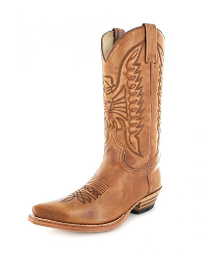 Sendra Boots 2073, Stivali western unisex adulto, Beige (Olimpia 023), 47
