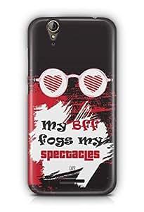 YuBingo My BFF Fogs my Spectacles Designer Mobile Case Back Cover for Acer Liquid Jade 630