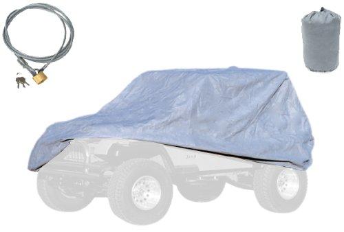 Get Cheap Rugged Ridge 13321 72 Three Layer Full Car Cover