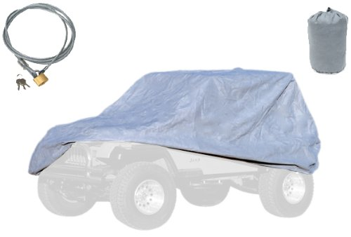 Rugged Ridge 13321.72 Three Layer Full Car Cover With Bag And Lock front-491353