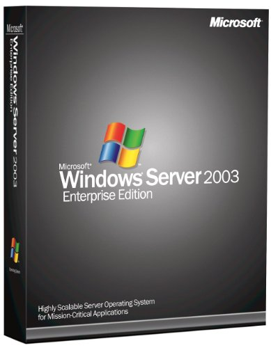 Microsoft Windows Server 2003 - Enterprise Edition - 25 Clients [Old Version]