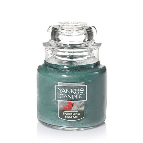 Yankee Candle Sparkling Balsam Small Jar Candle, Festive Scent (20 Small Glass Jars compare prices)