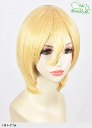 スキップウィッグ 魅せる シャープ 小顔に特化したコスプレアレンジウィッグ マシュマロショート レモンキャンディ