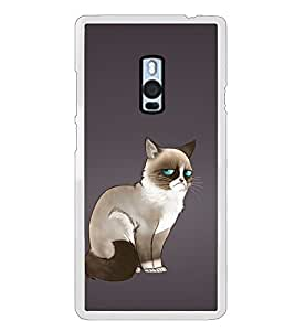 Grumpy Cat 2D Hard Polycarbonate Designer Back Case Cover for OnePlus 2 :: OnePlus Two :: One +2