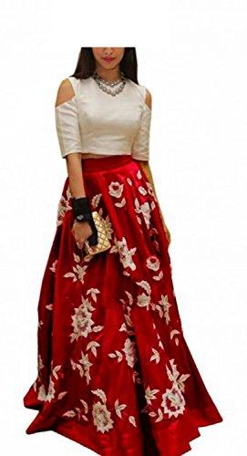Kenil-Fabrics-Red-Satin-Embroidered-Lehenga-Choli