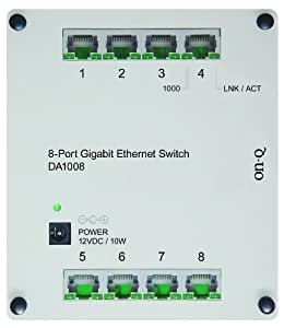 On-Q / Legrand DA1008 8-Port Gigabit Switch