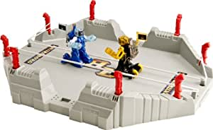 Battroborg 3-in-1 Battle Arena, Blue and Yellow