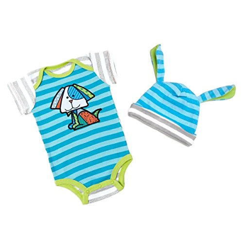 Britto Bebe Boy 6-12 Months Onesie and Hat