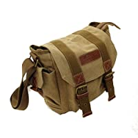 Fashion Vintage Canvas Casual Digital Camera Shoulder Bag Messenger Bag for Canon Nikon Sony SLR DSLR from COURSER