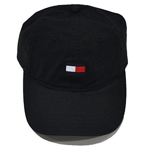 b5aef015 Tommy hilfiger 0646130727778 Baseball Hat Cap Black Medium Logo 5901299-  Price in India