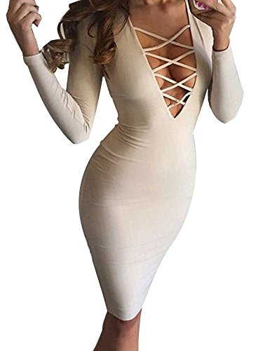 Allegrace-Women-Sexy-Long-Sleeve-Autumn-Warm-Stretch-Bodycon-Party-Bandage-Dresses