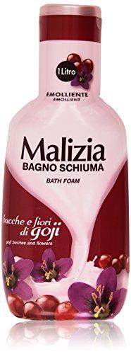 Malizia - Bagno Schiuma, Bacche e Fiori di Goji - 1000 ml