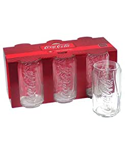 Arc international luminarc coca cola can cooler glass 12 ounce - Verre coca cola luminarc ...