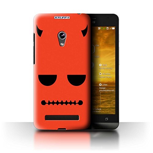 STUFF4 Phone Case / Cover for Asus Zenfone 5/A500CG / Devil Design / Halloween Character Collection (Devil Case For Zenfone 5 compare prices)