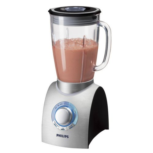 Philips HR2094 Aluminium Blender  750 Watt  Chrome Black