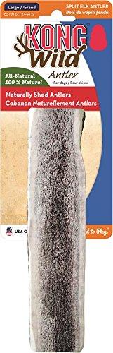 KONG Wild Split Elk Antler Dog Bone, Large (Split Elk Antlers For Dogs Large compare prices)