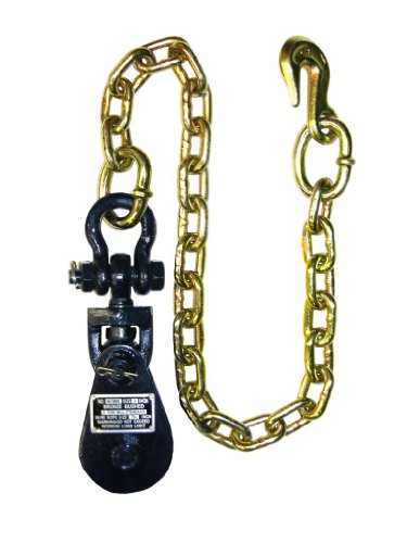 BA Products 6I-2TSW30 2 Ton Snatch Block with Chain