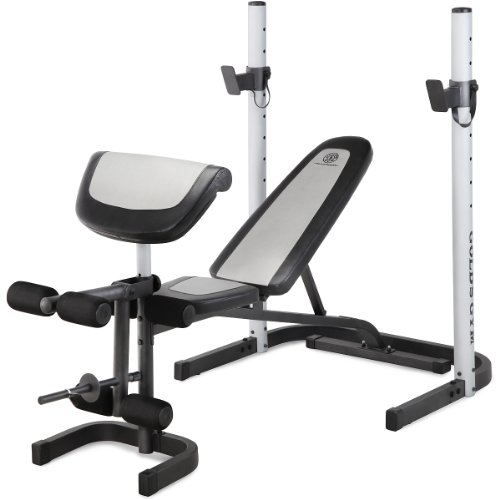 Very Cheap Olympic Weight Set Gold 39 S Gym Platinum Mid Width Bench