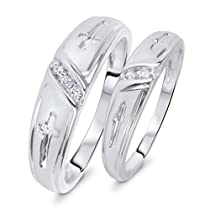 1//20 cttw, G-H,I2-I3 Size-11.25 Diamond Wedding Band in 10K White Gold