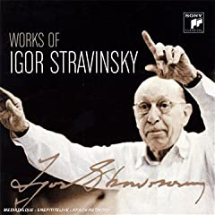 Works of Igor Stravinsky(22枚組)の商品写真