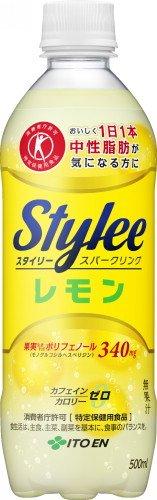 [トクホ]伊藤園 Stylee(スタイリー) スパークリングレモン 500ml×24本