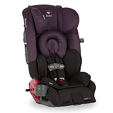 Diono Radian RXT Convertible Car Seat, Black Plum