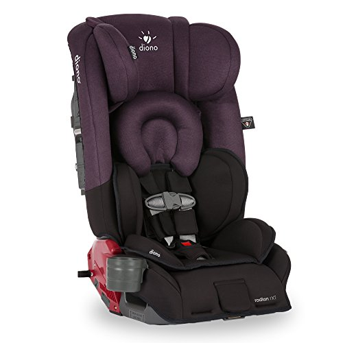 Diono-Radian-RXT-Convertible-Car-Seat-Black-Plum