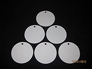 8 Inch Round Steel Targets for Pistol Shooting 6 Piece Metal Target Set Manufactured By Magnum Target by Magnum Target