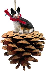 Welsh Corgi Cardigan Dog Pinecone Ornament