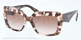 ddf5e999df0126 Lunettes de soleil Prada 03QS Brown Tortoise à angle droit ) - fr-shop