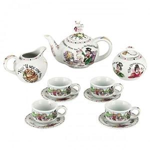 Cardew Alice in Wonderland Miniature Collector's Tea Set by Cardew