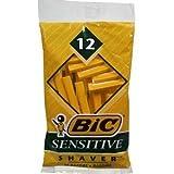 BIC SHAVER SENSITIVE SOP 121 12 EACH by BIC CORPORATION ***