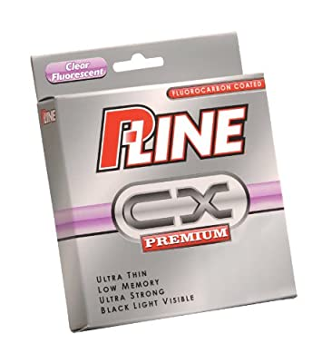 P-line Cx Premium Clear Fluorescent Fishing Line 260-300 Yard Filler Spool from P-Line Fishing