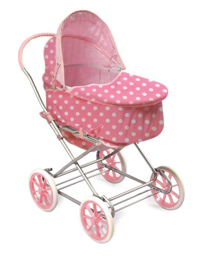 Toy Baby Carriage Toy Baby Carriage Badger Basket Polka