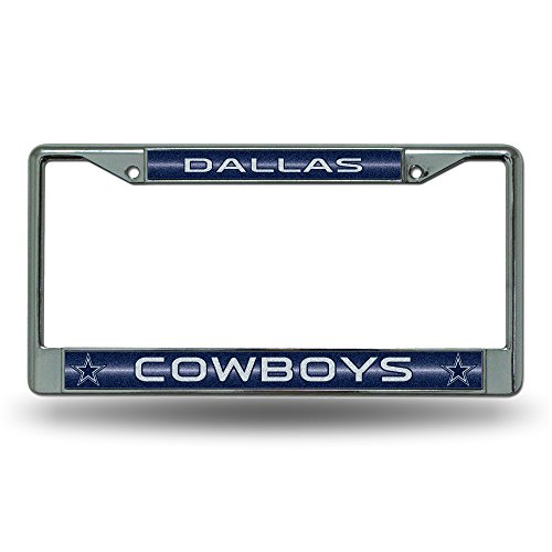 NFL Dallas Cowboys Bling Chrome Plate Frame (Nfl Truck Accessories compare prices)
