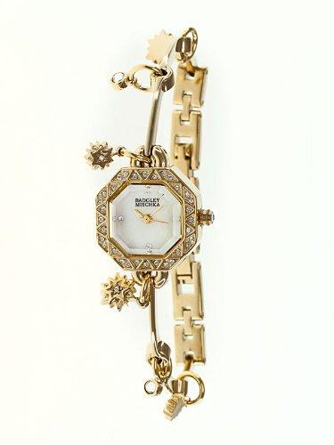 Badgley Mischka Ba-1166mpgb Star Charm Ladies Watch
